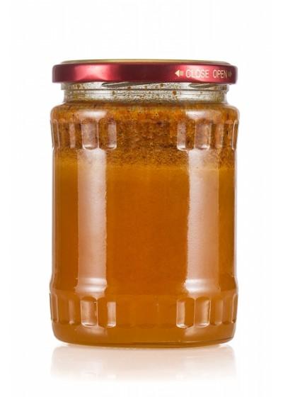 Пчелен имуностимулатор ДЪЛГОЛЕТИЕ - пчелен мед, прополис, пчелно млечице,търтиево млечице, цветен прашец - 650 гр.