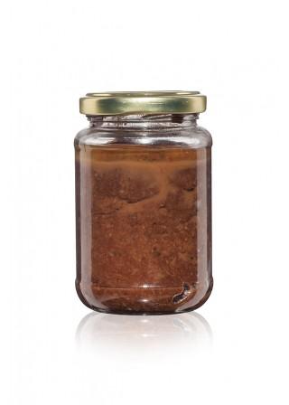 Пълнозърнест сусамов и ленен тахан с рожков и пчелен мед - подходящ за деца - 200 гр.
