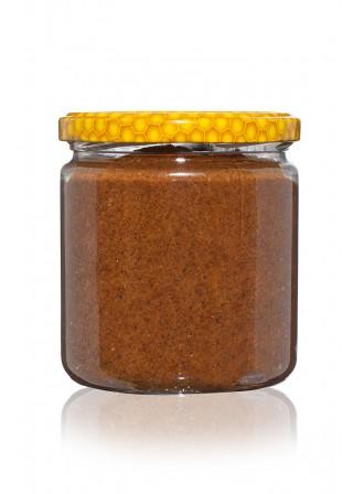 Пълнозърнест Лешников тахан  с пчелен мед- - 400 гр.