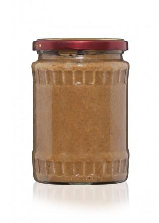 Пълнозърнест сусамов и ленен тахан с пчелен мед 600гр.